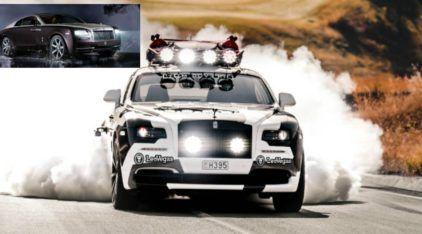 É difícil de acreditar, mas isso é um Rolls-Royce (insanamente preparado) com 821 cv