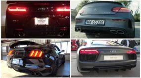 Aumente o som e responda: carros alemães ou americanos, quais produzem os roncos mais insanos?