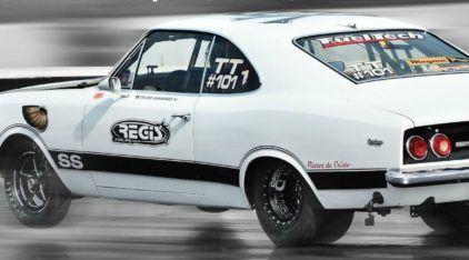 Opala turbo faz de 0 a 100 km/h em 2 segundos (e depois passa dos 300 km/h)