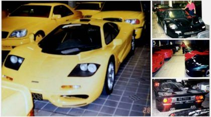 Nunca visto antes: Reveladas fotos da coleção secreta de 5.000 carros (do sultão mais rico do mundo)