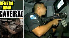 Dentro do Caveirão: Veja imagens impressionantes do trabalho do policiais em confrontos