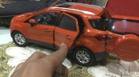 Saindo da caixa: Veja em detalhes uma miniatura do Ford Ecosport (em escala 1/18)