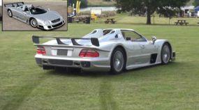 Herói ou maluco? Dono realiza Rali com raríssima Mercedes CLK GTR (que vale mais de R$ 6 milhões)