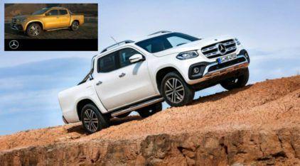 Agora é OFICIAL: Revelada a nova Picape da Mercedes-Benz (em versão definitiva)