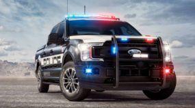 Novidade: Revelada a primeira Picape Ford (oficialmente) desenvolvida para perseguições da Polícia