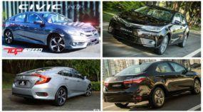 Qual carro comprar: Novo Honda Civic ou Toyota Corolla (Veja as melhores avaliações e comparativos)