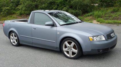 Isso é real: Alguém teve a ousadia de cortar (e transformar) um Audi S4 numa Picape
