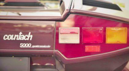 Vídeo de arrepiar mostra o lendário Lamborghini Countach (dirigido pelo mito Valentino Balboni)