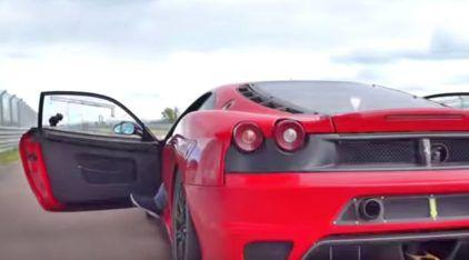 Brasileiro fala (e filma) sobre como é dirigir uma Ferrari de competição