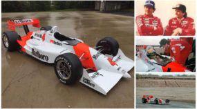 Restaurado: ÚNICO carro pilotado por Ayrton Senna na Indy reaparece renovado