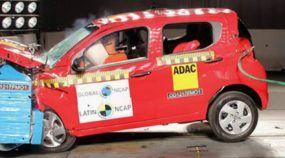 Vexame: Fiat Mobi tem resultado decepcionante em teste de colisão (recebendo nota baixa)