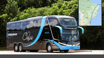 Essa é a maior Linha de Ônibus do Brasil (de Fortaleza a Pelotas). Você toparia essa viagem?