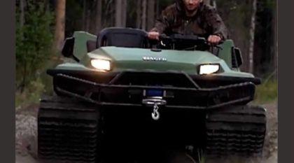 Personal Tank? Vídeo revela essa novidade brutal (que pode ser o seu veículo dos sonhos)