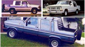 Uma janela para os anos 80: Veja como eram as picapes (exclusivas) e carros de luxo no Brasil