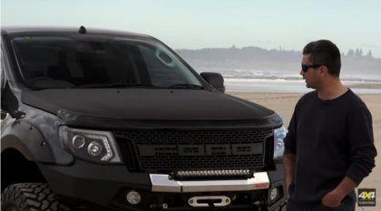 Ford Ranger com motor V8 supercharger? Vídeo mostra esse projeto insano em ação