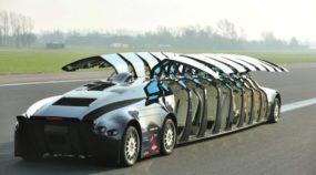 Ônibus superesportivo? Conheça o surpreendente Superbus (projeto radical para levar passageiros)