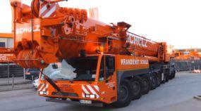 Com capacidade para 700 toneladas, conheça o brutal Guindaste (todo-terreno) Terex Demag AC 700