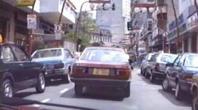 Uma janela no tempo: Espie como era o trânsito no Brasil nos anos 80