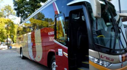 A que ponto chegamos: Empresa do RJ estreia ônibus com vidros blindados (que suportam calibre 38)