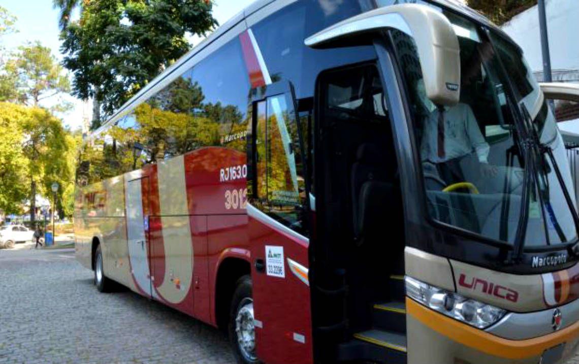 Única - Ônibus Blindado