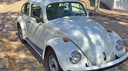 """Clássico Impecável: veja detalhes de lindo VW Fusca Itamar com pacote """"Luxo II"""""""