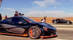 Hipercarros e polêmica: Bugatti Veyron desafia McLaren P1 na arrancada