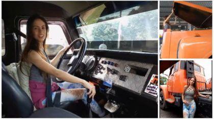 3 Milhões de Visualizações: Vídeo da caminhoneira Anailê do Jacaré (passando marchas) viraliza ainda mais na internet