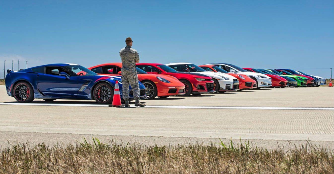 Surpresa Na Arrancada Do Ano Tesla Model S Deixa Para