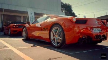Fabuloso: 70 anos da Ferrari no maior encontro do Brasil (116 carros Ferrari juntos)