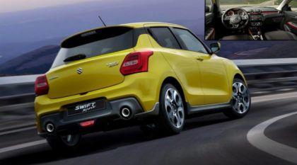 Novo foguetinho japonês: Suzuki Swift Sport chega mais leve, turbinado e poderoso