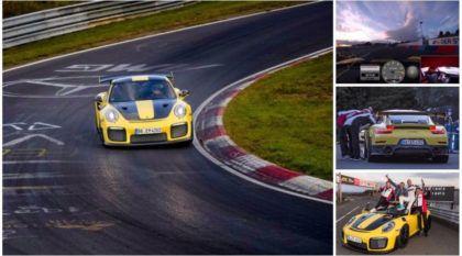 Novo recorde: Porsche fulmina Lamborghini e retoma a coroa do carro mais rápido em Nurburgring