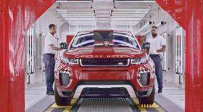 É assim a linha de montagem (no Brasil) do Range Rover EVOQUE