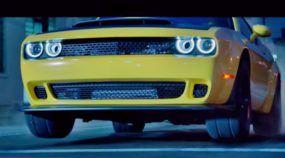 O Exorcista do Asfalto: Dodge Challenger SRT Demon em ação sem precedentes pelas ruas