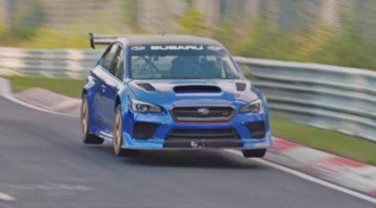 Recorde em Nürburgring: Subaru WRX STI preparado é o sedan mais rápido (e bateu tempo de Lamborghini)