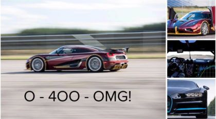 Novo mito supremo: Koenigsegg Agera RS destrói recorde do Bugatti Chiron (0-400-0 km/h)