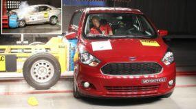 Nota ZERO: Ford Ka, outro campeão de vendas, tem resultado lamentável em teste de colisão