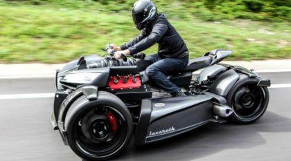 Novidade insana: com motor V8 italiano, veja e ouça o novo Lazareth Wazuma V8M