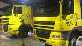 FENATRAN (Salão dos Caminhões) Dia 01: DAF 105.520, Scania R620, Volkswagen Delivery e mais
