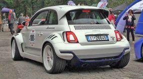 Fiat 500 Giannini 350 GP: Fiat 500 anabolizado, com 350cv (motor de Alfa) e tração traseira