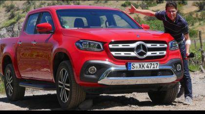 Primeiros testes e avaliações: Veja de perto os detalhes da nova caminhonete Mercedes-Benz Classe X