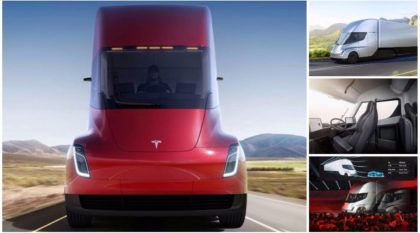 OFICIAL: Com mais de 1.000 cv e cabine revolucionária, revelado novo Caminhão TESLA Semi elétrico
