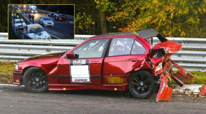 PESADELO no Inferno Verde: Veja o MEGA acidente que esse cara flagrou (com 14 carros)
