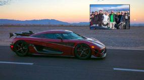 NOVO RECORDE: Koenigsegg esmaga Bugatti (a 444,6 km/h) e Agera RS é o carro mais rápido do mundo