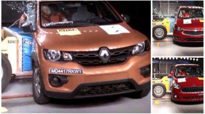 Surpresa: Renault Kwid consegue 3 estrelas no teste de colisão do Latin NCAP (melhor que Onix e Ka)