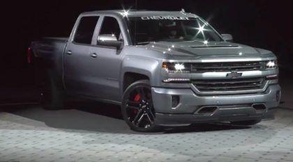 Silverado com motor V8 do Corvette? Vídeo revela esse novo projeto extremo da Chevrolet