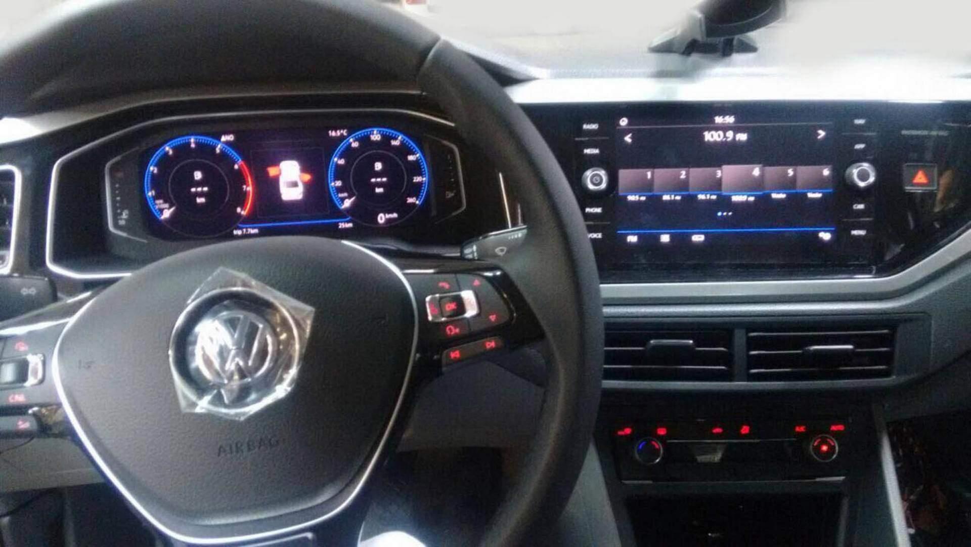 VW Virtus - Painel