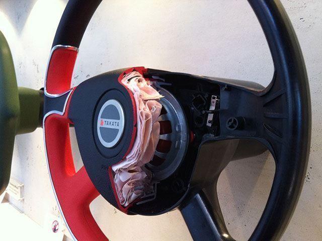 70% dos Airbags Takata não foram trocados ainda, sua vida pode estar em risco