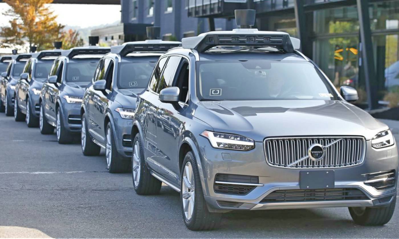 Uber - Volvo