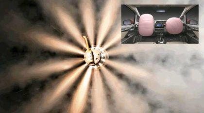 É isso que acontece com a carga explosiva extrema dentro de um Airbag (Vídeo em câmera lenta)