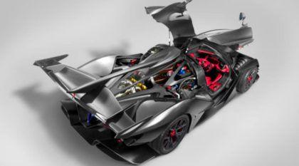 """Novo supercarro """"RAIZ"""": O brutal Apollo Intensa Emozione tem motor V12 aspirado de 780 cv"""